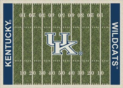 Kentucky Wildcats 7ft 8in x 10ft 9in NCAA Home Field Area Rug