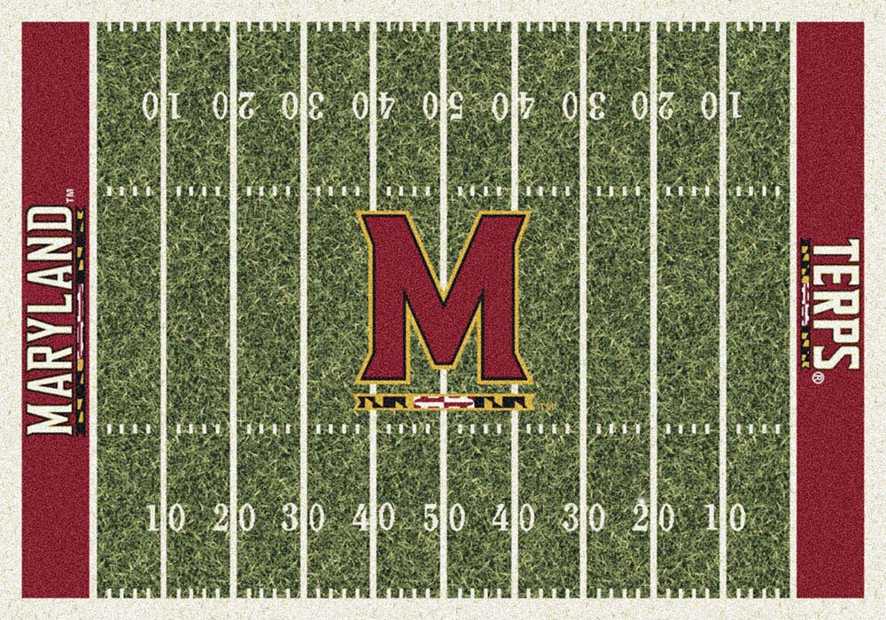 "Maryland Terrapins 3' 10"" x 5' 4"" Home Field Area Rug"