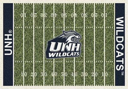 """New Hampshire Wildcats 3' 10"""" x 5' 4"""" Home Field Area Rug"""