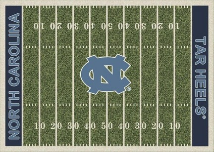 "North Carolina Tar Heels 3' 10"" x 5' 4"" Home Field Area Rug"