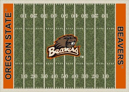 "Oregon State Beavers 7' 8"" x 10' 9"" NCAA Home Field Area Rug"