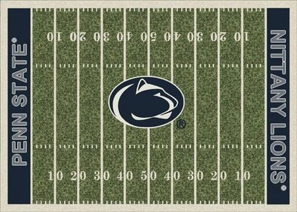 Penn State Nittany Lions 7ft 8in x 10ft 9in NCAA Home Field Area Rug