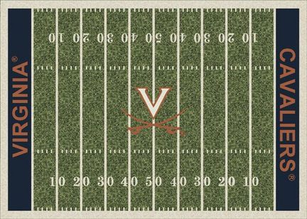 "Virginia Cavaliers 7' 8"" x 10' 9"" NCAA Home Field Area Rug"