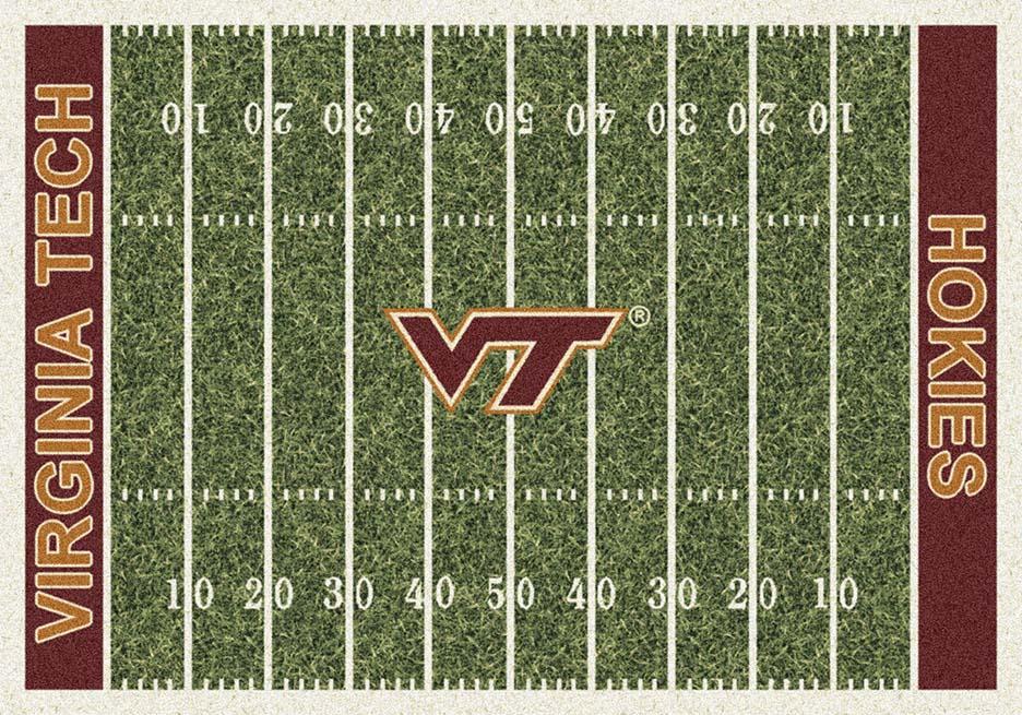 Virginia Tech Hokies 5ft 4in x 7ft 8in NCAA Home Field Area Rug