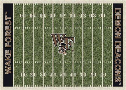 "Wake Forest Demon Deacons 7' 8"" x 10' 9"" NCAA Home Field Area Rug"