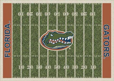 """Florida Gators 7' 8"""" x 10' 9"""" NCAA Home Field Area Rug"""