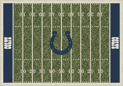 """Indianapolis Colts 3' 10"""" x 5' 4"""" Home Field Area Rug"""
