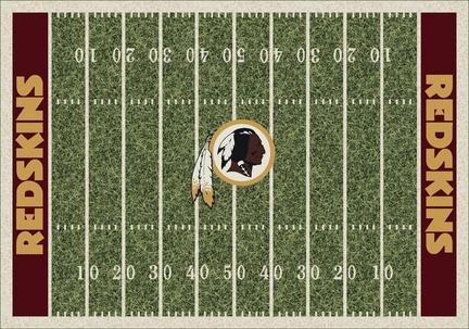 """Washington Redskins 5' 4"""" x 7' 8"""" NFL Home Field Area Rug"""