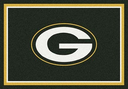 "Green Bay Packers 7' 8"" x 10' 9"" Team Spirit Area Rug (Green)"