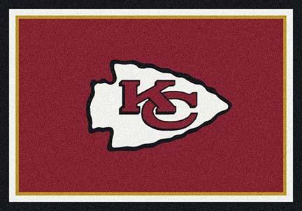 "Kansas City Chiefs 3' 10"" x 5' 4"" Team Spirit Area Rug (Red)"