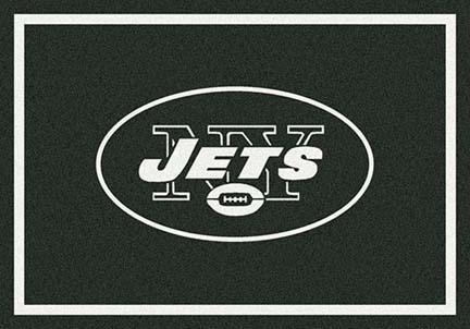 "New York Jets 3' 10"" x 5' 4"" Team Spirit Area Rug (Green)"