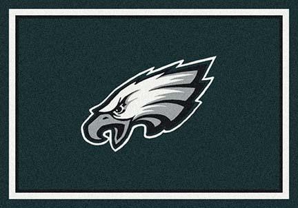 "Philadelphia Eagles 7' 8"" x 10' 9"" Team Spirit Area Rug (Green)"
