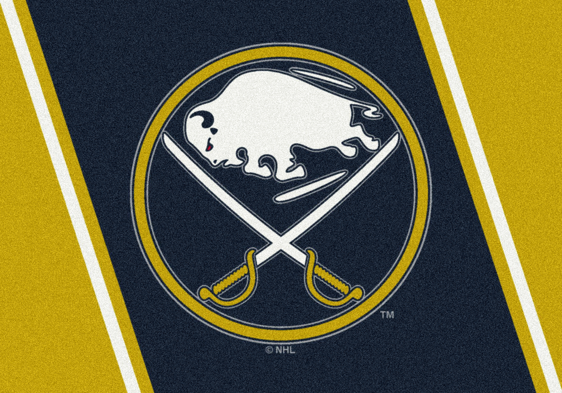 "Buffalo Sabres 2' 8"" x 3' 10"" Team Spirit Area Rug"