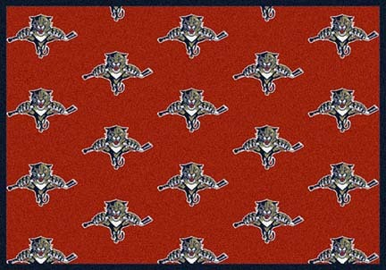 "Florida Panthers 2' 1"" x 7' 8"" Team Repeat Area Rug Runner"