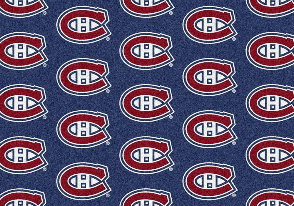 "Montreal Canadiens 2' 1"" x 7' 8"" Team Repeat Area Rug Runner"