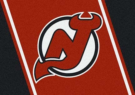 "New Jersey Devils 3' 10"" x 5' 4"" Team Spirit Area Rug"