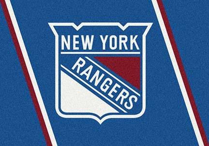 "New York Rangers 7' 8"" x 10' 9"" Team Spirit Area Rug"