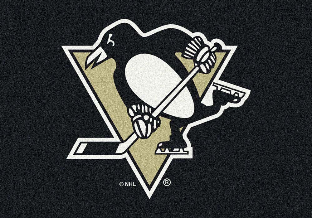 "Pittsburgh Penguins 2' 8"" x 3' 10"" Team Spirit Area Rug"