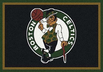 "Boston Celtics 5' 4"" x 7' 8"" Team Spirit Area Rug"