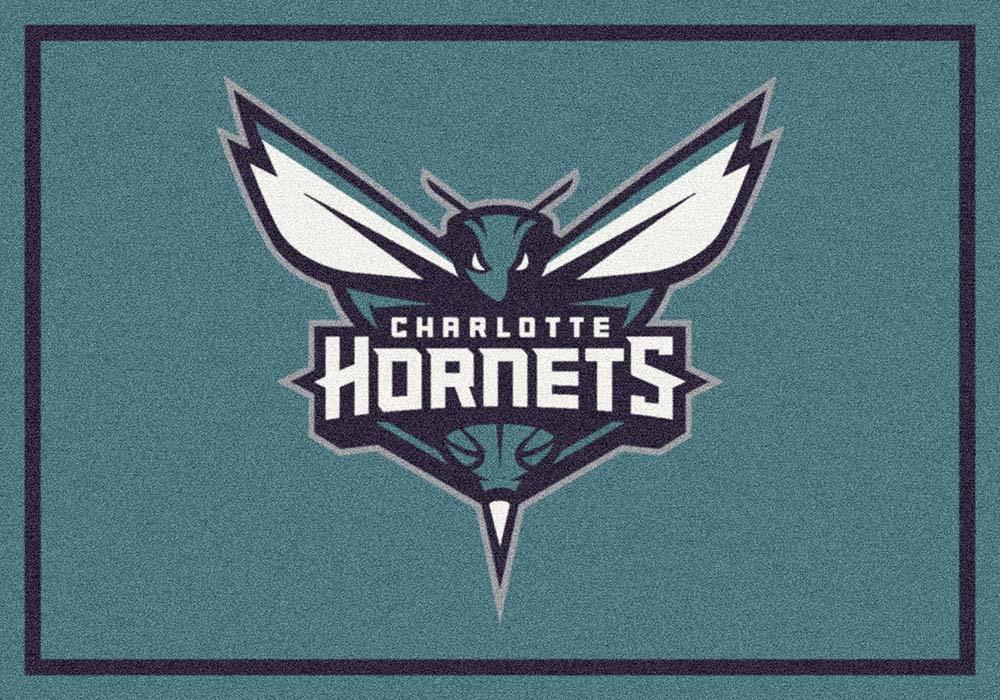 "Charlotte Bobcats 5' 4"" x 7' 8"" Team Spirit Area Rug"