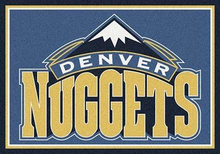 "Denver Nuggets 2' 8"" x 3' 10"" Team Spirit Area Rug"