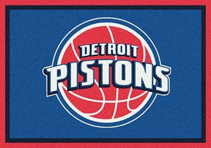 "Detroit Pistons 5' 4"" x 7' 8"" Team Spirit Area Rug"