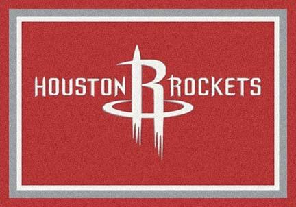 "Houston Rockets 5' 4"" x 7' 8"" Team Spirit Area Rug"