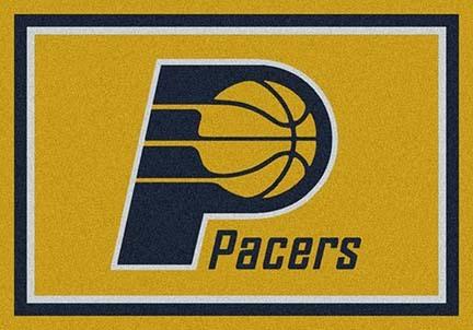 "Indiana Pacers 5' 4"" x 7' 8"" Team Spirit Area Rug"