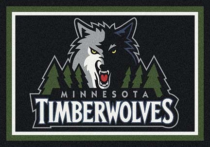 "Minnesota Timberwolves 5' 4"" x 7' 8"" Team Spirit Area Rug"