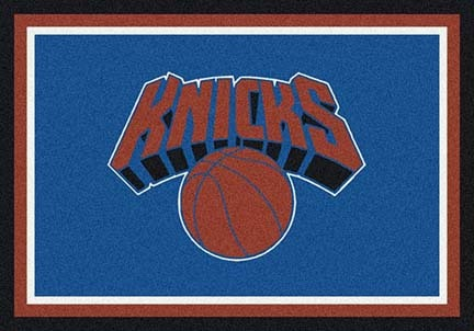 "New York Knicks 5' 4"" x 7' 8"" Team Spirit Area Rug"