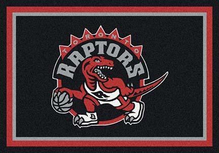 "Toronto Raptors 5' 4"" x 7' 8"" Team Spirit Area Rug"