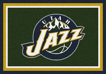 "Utah Jazz 2' 8"" x 3' 10"" Team Spirit Area Rug"