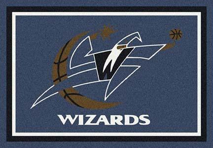 "Washington Wizards 3' 10"" x 5' 4"" Team Spirit Area Rug"