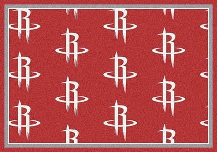 "Houston Rockets 7' 8"" x 10' 9"" Team Repeat Area Rug"