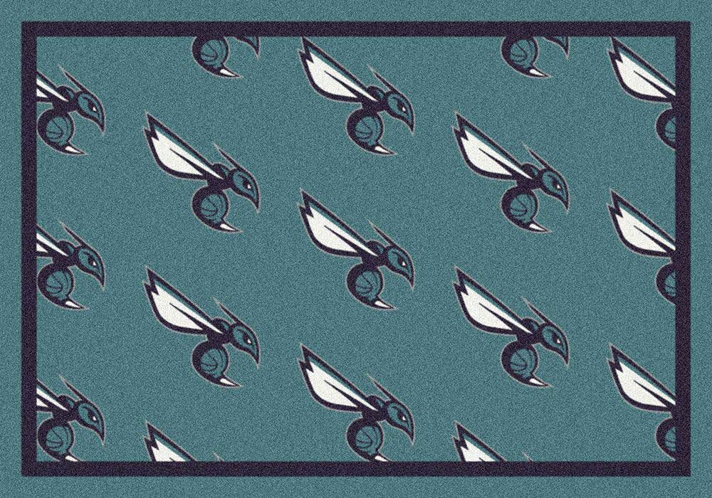 """New Orleans Hornets 5' 4"""" x 7' 8"""" Team Repeat Area Rug"""