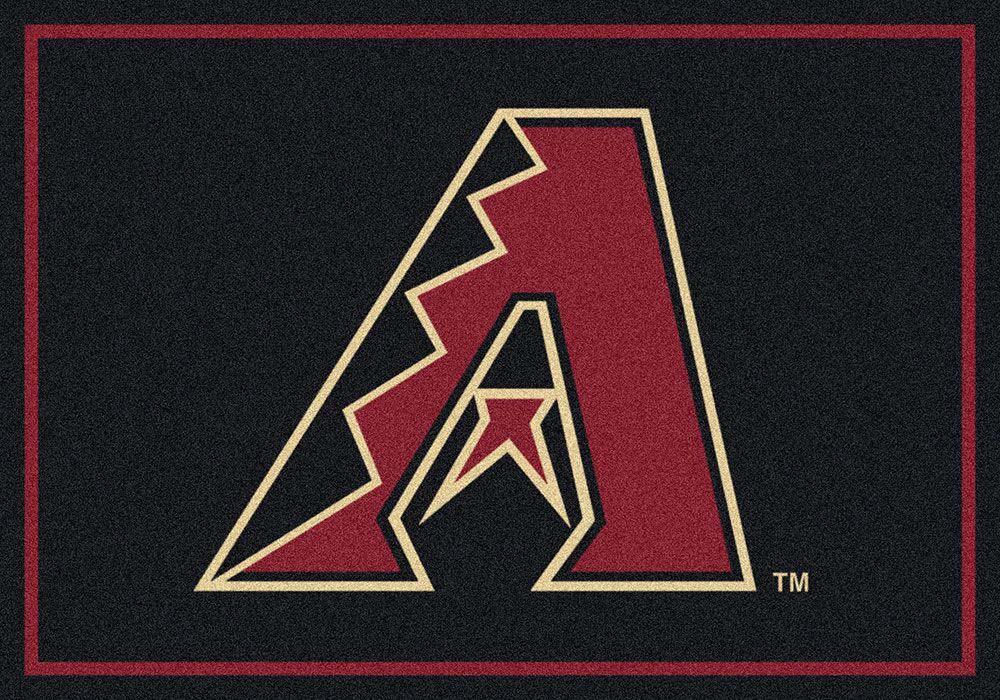 "Arizona Diamondbacks 3'10"""" x 5'4"""" Team Spirit Area Rug"" MI-533324-200-1001"