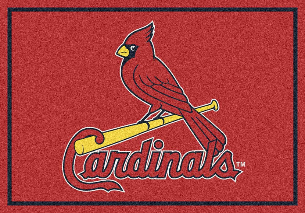 "St. Louis Cardinals 5' 4"" x 7' 8"" Team Spirit Area Rug"