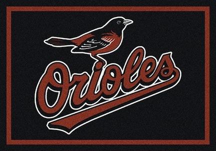 "Baltimore Orioles 7' 8"" x 10' 9"" Team Spirit Area Rug"