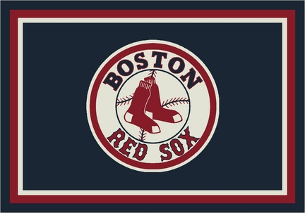"Boston Red Sox 3'10"" x 5'4"" Team Spirit Area Rug"