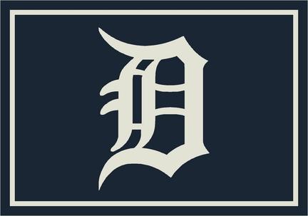"Detroit Tigers 2'8"" x 3'10"" Team Spirit Area Rug"