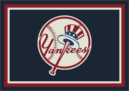"New York Yankees 5' 4"" x 7' 8"" Team Spirit Area Rug"