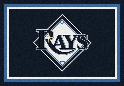 "Tampa Bay Rays 2'8"" x 3'10"" Team Spirit Area Rug"