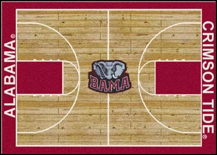 "Alabama Crimson Tide 7' 8"" x 10' 9"" Home Court Area Rug"