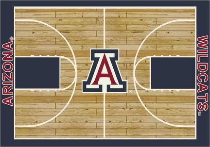 "Arizona Wildcats 5' 4"" x 7' 8"" Home Court Area Rug"