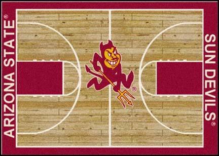 "Arizona State Sun Devils 7' 8"" x 10' 9"" Home Court Area Rug"
