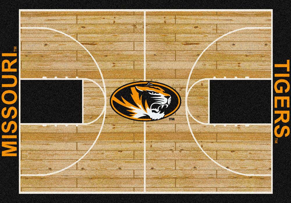 "Missouri Tigers 5' 4"" x 7' 8"" Home Court Area Rug"