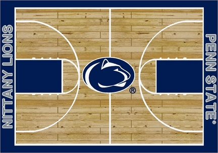 Penn State Nittany Lions 7ft 8in x 10ft 9in Home Court Area Rug