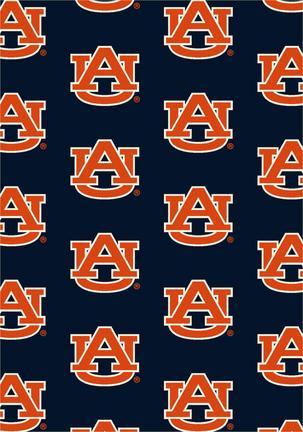 """Auburn Tigers 7' 8"""" x 10' 9"""" Team Repeat Area Rug"""