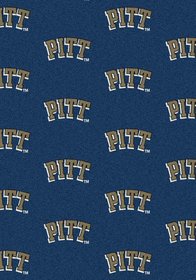 """Pittsburgh Panthers 5' 4"""" x 7' 8"""" Team Repeat Area Rug"""