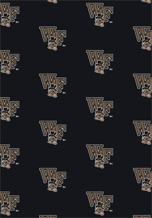 """Wake Forest Demon Deacons 7' 8"""" x 10' 9"""" Team Repeat Area Rug"""